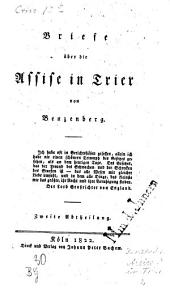 Briefe ueber die Assise in Trier
