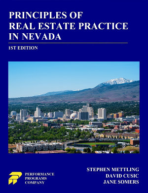 Principles of Real Estate Practice in Nevada