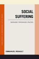 Social Suffering PDF