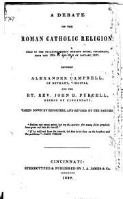 A Debate on the Roman Catholic Religion PDF