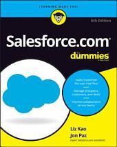 Salesforce.com For Dummies: Edition 6