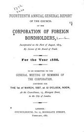Report of the Council of the Corporation of Foreign Bondholders: Volume 14