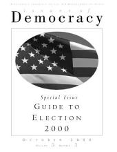 Special Issue: Guide to Election 2000