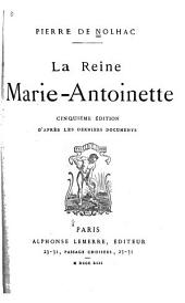 La reine Marie-Antoinette
