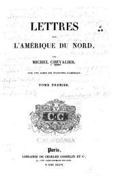 Lettres Sur L'Ameŕique Du Nord: Volume 1