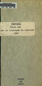 Lei de liberdade de imprensa de 11 de abril de 1907