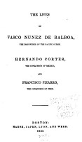 The Lives of Vasco Nunez de Balboa PDF