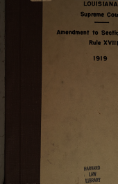 Amendment to Section 3 of Rule XVIII.