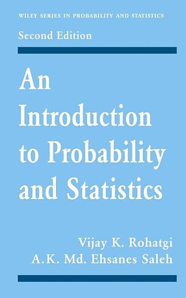 Introduction To Probability And Statistics 2