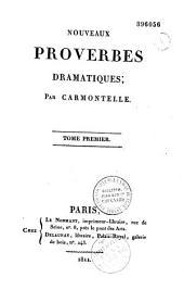 Nouveaux proverbes dramatiques, par Carmontelle