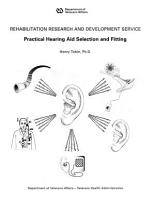 Practical Hearing Aid Selection and Fitting PDF