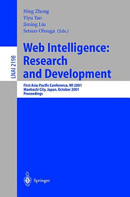 Web Intelligence  Research and Development PDF