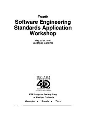 IEEE 1981  Software Engineering Standards Applications Workshop PDF