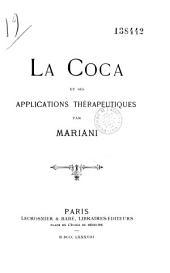 La coca et ses applications thérapeutiques