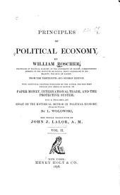 Principles of Political Economy: Volume 2