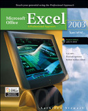 Microsoft Office Excel 2003  A Professional Approach  Specialist Student Edition w  CD ROM PDF