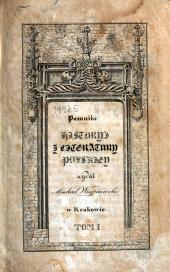 Pomniki historyi i literatury polskiéj: Rozprawy Tadeusza Czackiego, Tom 1