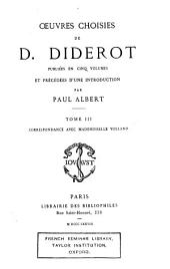 Œuvres choisies de D. Diderot: Volume3