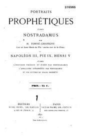 Portraits prophétiques d'après Nostradamus
