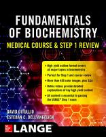 Biochemistry Course and Step 1 Review PDF