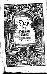 Das Alte Testament Deutsch PDF