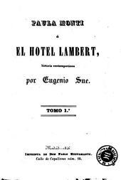 Paula Monti, ó, El hotel Lambert: historia contemporánea
