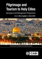 Pilgrimage and Tourism to Holy Cities PDF