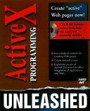 ActiveX Programming Unleashed PDF