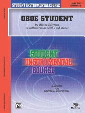 Student Instrumental Course: Oboe Student, Level 2
