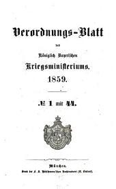 Verordnungs-Blatt: 1859