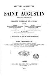Œuvres complètes de Saint Augustin: Volume29