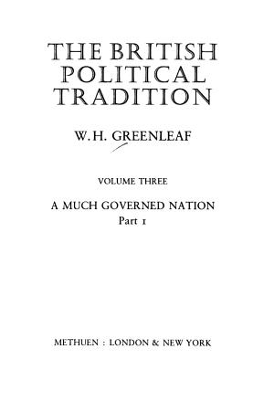 The British Political Tradition PDF