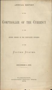 Annual Report   Comptroller of the Currency PDF