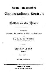 Neues elegantestes Conversations-Lexicon fuer Gebildete aus allen Staenden: Band 3