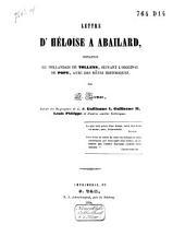 Lettre d'Héloïse à Abailard: imitation du hollandais de Tollens Cz., suivant l'original de Pope avec des notes historiques