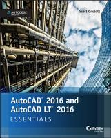 AutoCAD 2016 and AutoCAD LT 2016 Essentials PDF