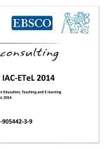 Proceedings of IAC-ETeL 2014