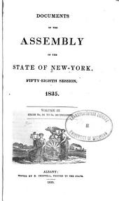 Documents of the Assembly of the State of New York: Volume 58, Issues 3-4