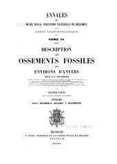 Annales du Musée royal d'histoire naturelle de Belgique: Volume4