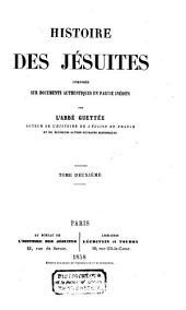 Histoire des Jésuites: Volume2