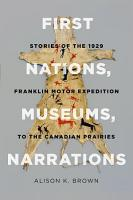 First Nations  Museums  Narrations PDF