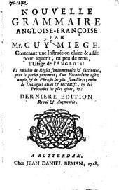Nouvelle grammaire angloise-françoise