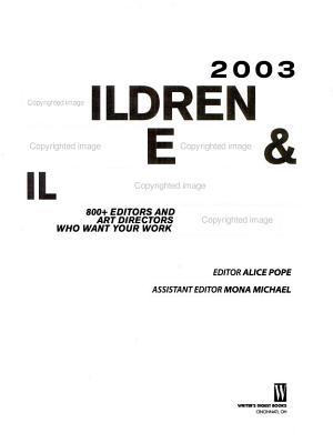 2003 Children s Writer s and Illustrator s Market PDF