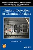 Limits of Detection in Chemical Analysis PDF