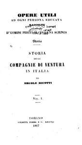 Storia delle compagnie di ventura in Italia: Volumi 1-2