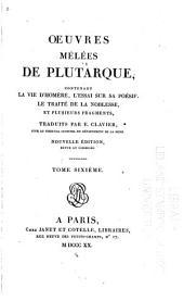 Œuvres mélées de Plutarque: Volume23