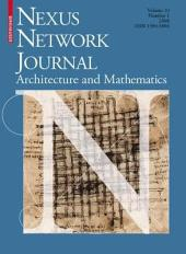 Nexus Network Journal 10,1: Architecture and Mathematics
