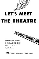 Let s Meet the Theatre PDF