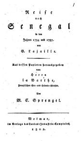Reise nach Senegal in den Jahren 1784 und 1787