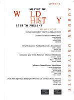 Survey of World History  1789 to Present   Vol ume B PDF